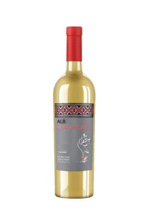 Alb de hanaseni wino mołdawskie białe półwytrawne