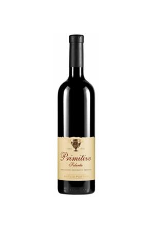 Antico PRIMITIVO DI SALENTO IGT wino włoskie czerwone wytrawne