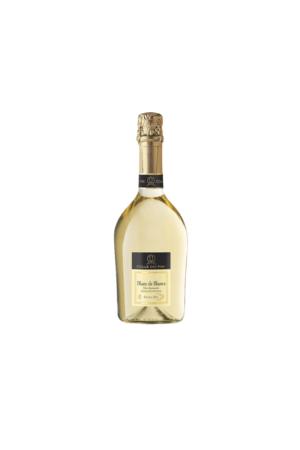 BLANC DE BLANCS SPUMANTE EXTRA DRY wino włoskie białe półwytrawne musujące