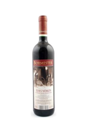 BORMESTER EDES VOROS wino węgierskie czerwone słodkie