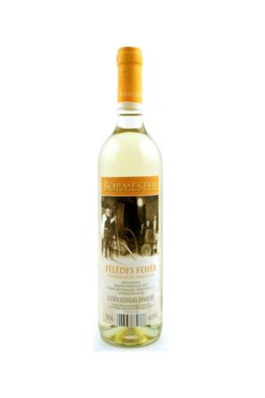 BORMESTER FELEDES FEHER wino węgierskie białe półsłodkie