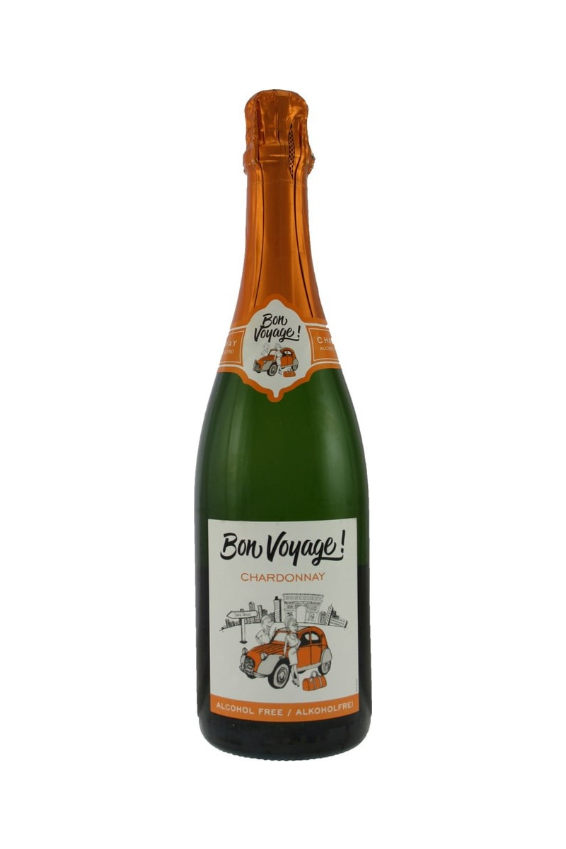 Bon Voyage Chardonnay wino francuskie białe półsłodkie musujące