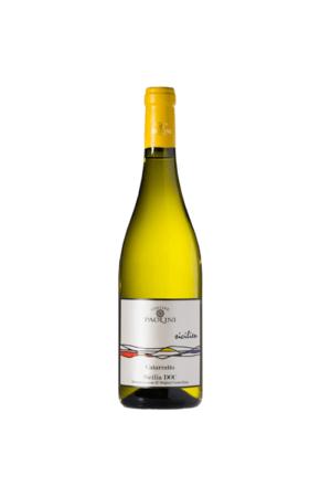 CATARRATTO SICILIA DOC wino włoskie białe wytrawne