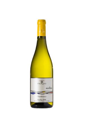 CHARDONNAY SICILIA DOC SICILIA Paolini wino włoskie białe wytrawne