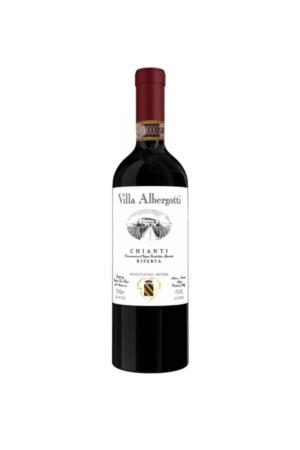 CHIANTI RISERVA VILLA ALBERGOTTI wino włoskie czerwone wytrawne