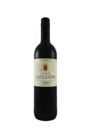 COMTE ALEXANDRE wino francuskie czerwone wytrawne