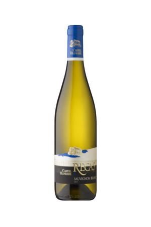Castel Huniade Sauvignon Blanc wino rumuńskie białe wytrawne
