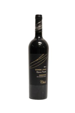 Conde Jose Reserva Privada Carmenere wino chilijskie czerwone wytrawne