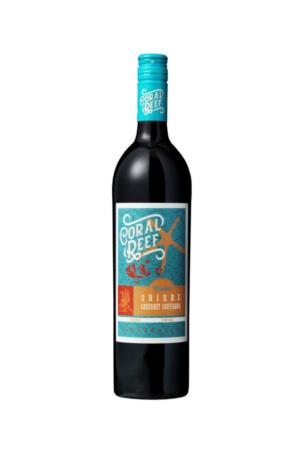 Coral Reef Shiraz Cabernet wino australijskie czerwone wytrawne