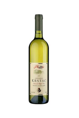 Crnogorski Krstac wino czarnogórskie białe półwytrawne