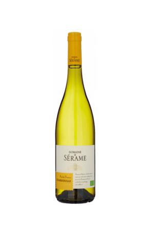 Domaine de Serame Chardonnay Bio wino francuskie białe wytrawne