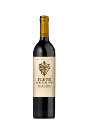 FLEUR DE MONS 2015 wino francuskie czerwone wytrawne