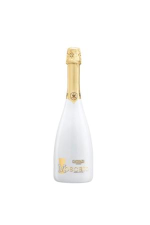 GIA Moscato Bianco.Butelka BIAŁA 075 wino włoskie białe słodkie musujące