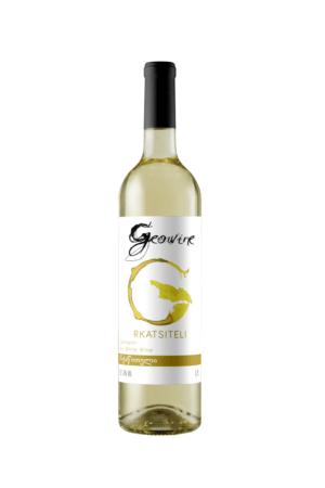 Geowine Rkatsiteli wino gruzińskie białe wytrawne
