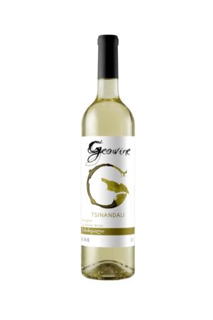 Geowine Tsinandali wino gruzińskie białe wytrawne