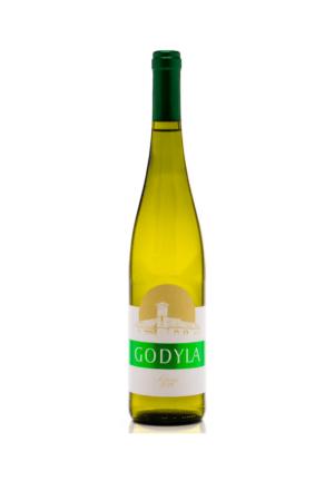 Godyla Solaris 2019 wino polskie białe wytrawne