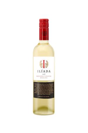 ILIADA organic Blanco Vegan wino hiszpańskie białe wytrawne