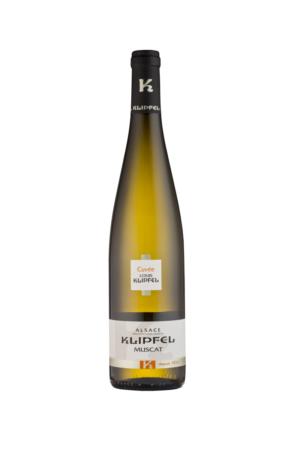 Klipfel Alsace AOP Muscat wino francuskie białe wytrawne