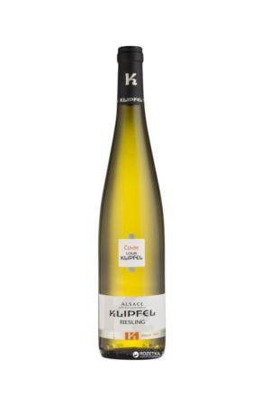 Klipfel Alsace AOP Riesling wino francuskie białe wytrawne