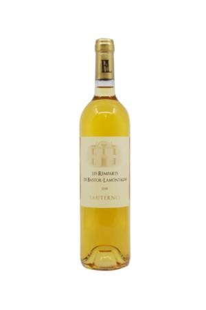 LES REMPARTS DE BASTOR-LAMONTAGNE 2016 BIO wino francuskie białe słodkie