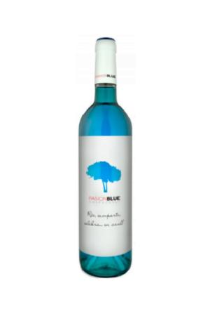 PASION BLUE wino hiszpańskie kolorowe półwytrawne