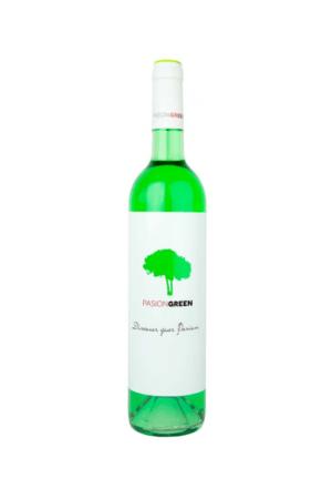 PASION GREEN wino hiszpańskie kolorowe półwytrawne