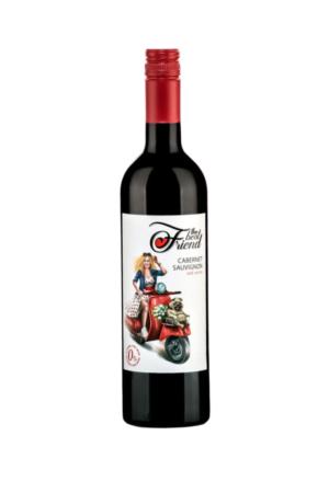 The best friend Cabernet Sauvignon wino mołdawskie czerwone półwytrawne bezalkoholowe
