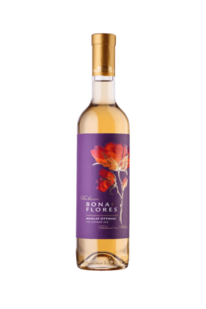 Wino Bona Flores Muscat Ottonel wino mołdawskie białe słodkie