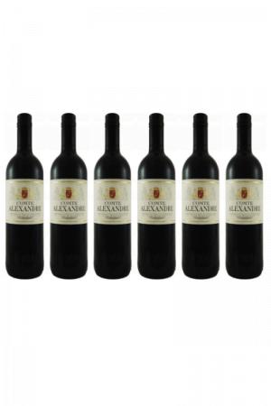 Zestaw COMTE ALEXANDRE wino francuskie czerwone wytrawne