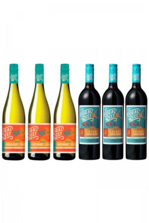 Zestaw Coral Reef wino australijskie wytrawne