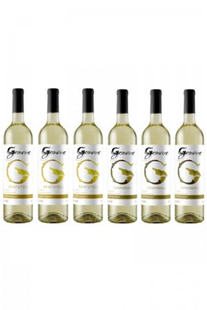Zestaw Geowine wino gruzińskie białe wytrawne