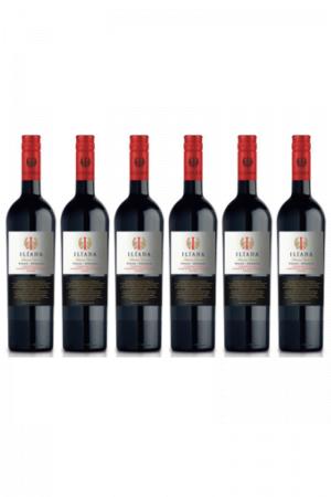 Zestaw ILIADA organic Tinto Vegan wino hiszpańskie czerwone wytrawne