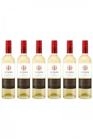 Zestaw Iliada organic bianco vegan wino hiszpańskie białe wytrawne