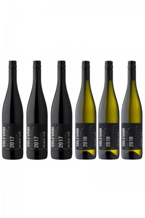 Zestaw Solevari wino rumuńskie wytrawne