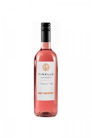 Tinello Vino Rosso Rosato wino włoskie różowe wytrawne