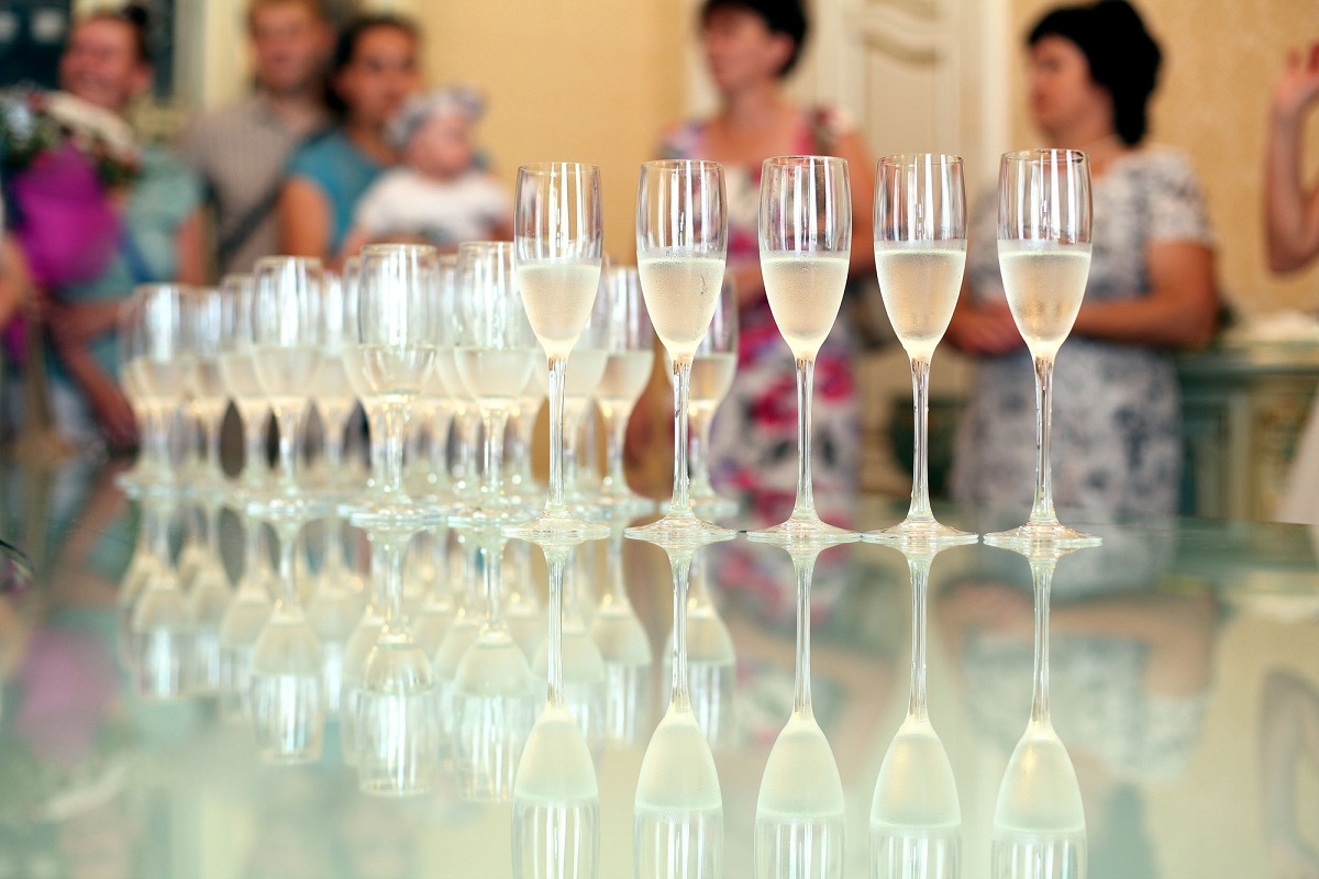 Wino na chrzest i komunię