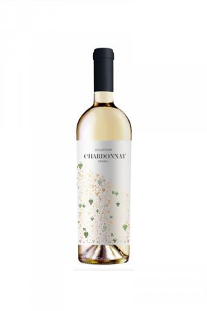 Incantare Chardonnay wino mołdawskie białe półwytrawne