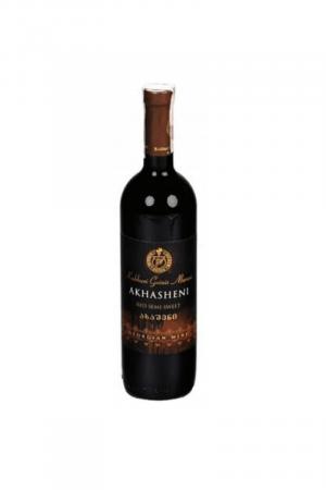 AKHASHENI wino gruzińskie czerwone półsłodkie