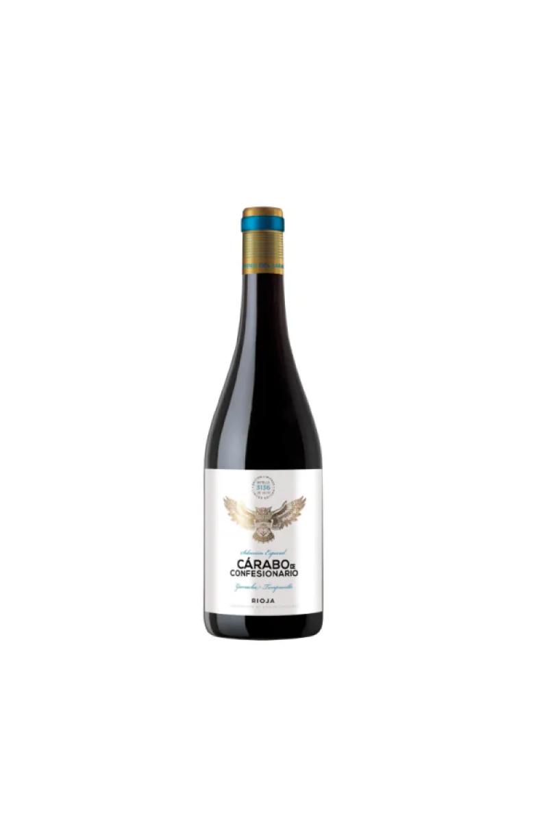 CÁRABO DE CONFESIONARIO TINTO wino hiszpańskie czerwone wytrawne