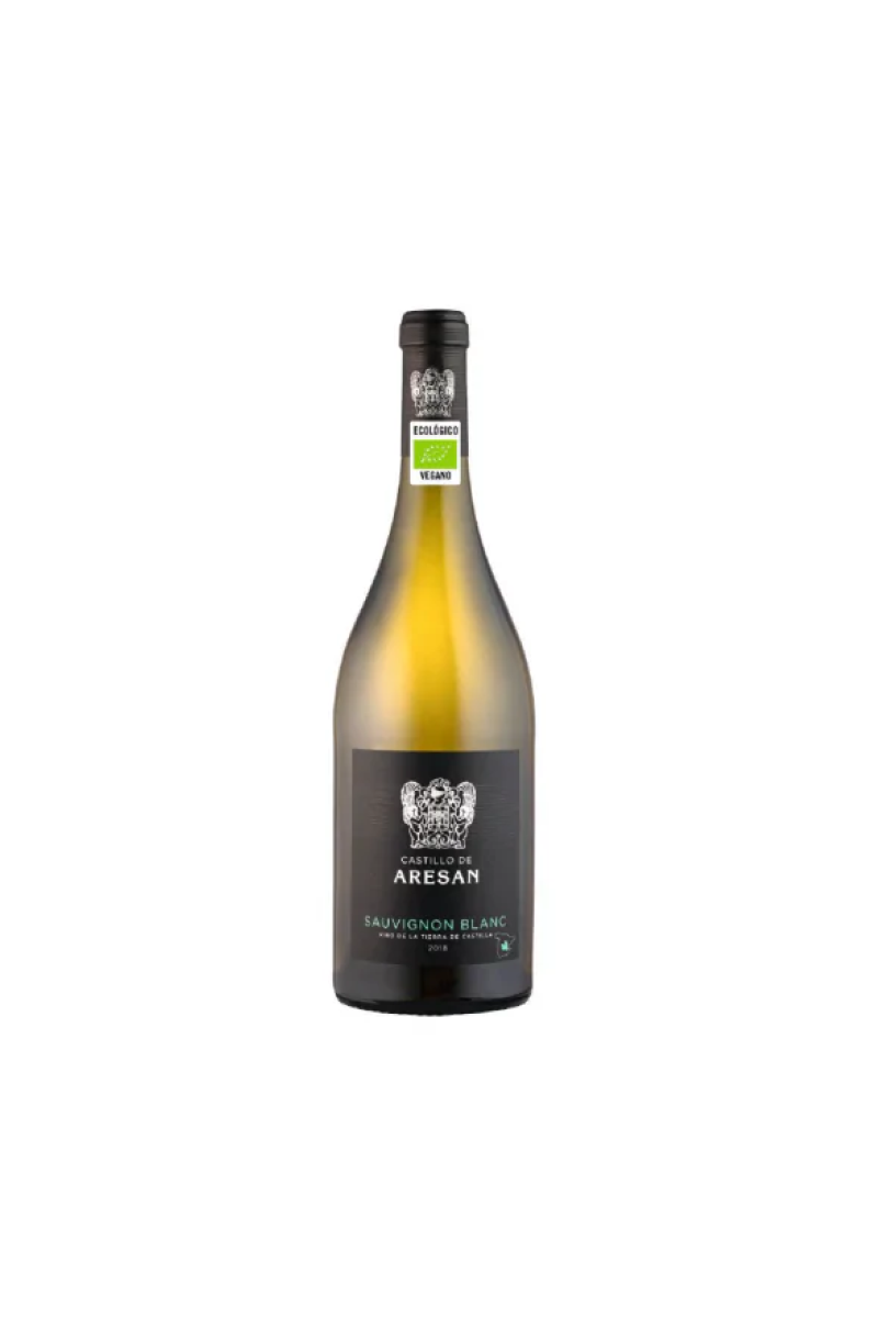 Castillo de Aresan Sauvignon Blanc wino hiszpańskie białe wytrawne