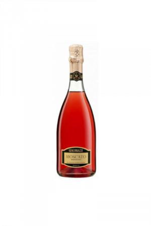 MOSCATO DOLCE ROSE wino włoskie różowe słodkie musujące