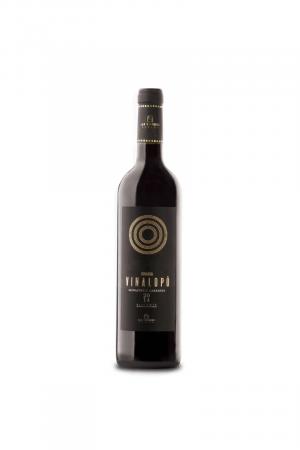Vinalopo Monastrell Cabernet Sauvignon Crianza wino hiszpańskie czerwone wytrawne