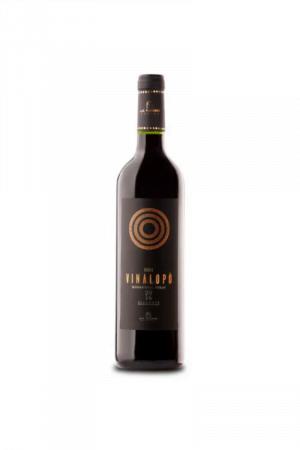 Vinalopo Monastrell Syrah Roble wino hiszpańskie czerwone wytrawne