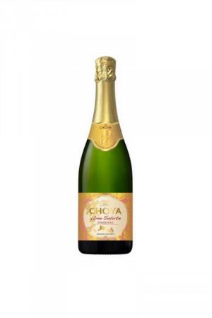 Choya Ume SALUTE sparkling wino japońskie białe słodkie musujące